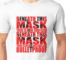 Ideas are bulletproof v.1 Unisex T-Shirt