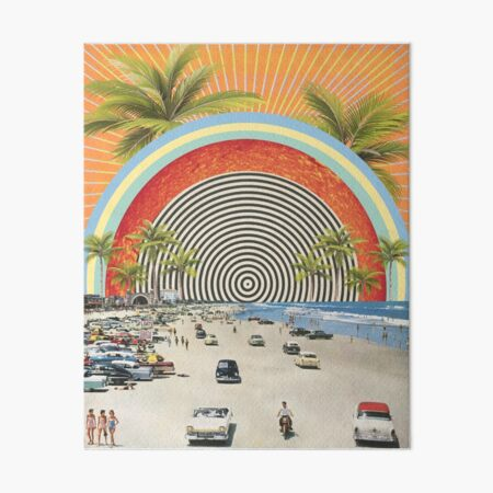 Beach Vibes Art Board Print