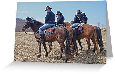 Turner Brigade Cavalry  by FrankieCat