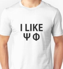 I Like Sci-Fi Unisex T-Shirt