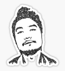 Dumbfoundead Portrait Sticker