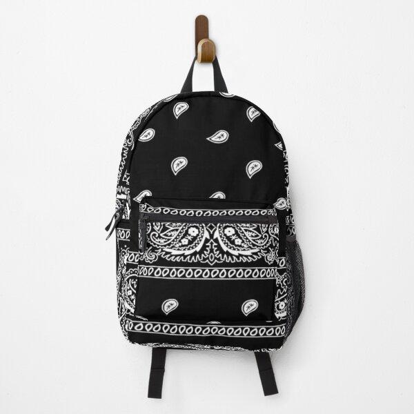 Bandana Black Backpack