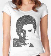 Watsky Portrait Women's Fitted Scoop T-Shirt