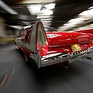 """""""Christine"""", the Plymouth Fury from the movie of John Carpenter by Stefan Bau"""