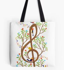 Song Birds Tote Bag