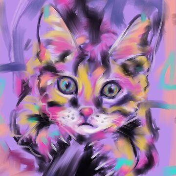Cat Wild Thing by GovanKampen