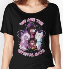 We are the Crystal Cats Women's Relaxed Fit T-Shirt