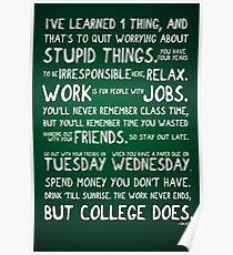Enjoy College Poster