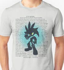 Silver the Hedgehog Lyrics Unisex T-Shirt