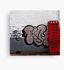 Tagging Canvas Print
