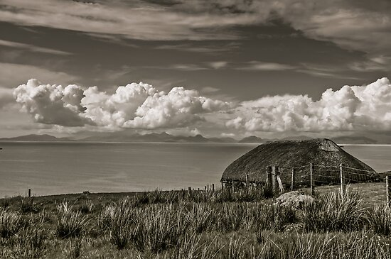 Traditional Isle of Skye Croft by Ross Hutton