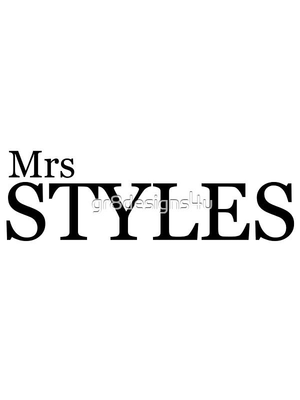 Mature mrs styles