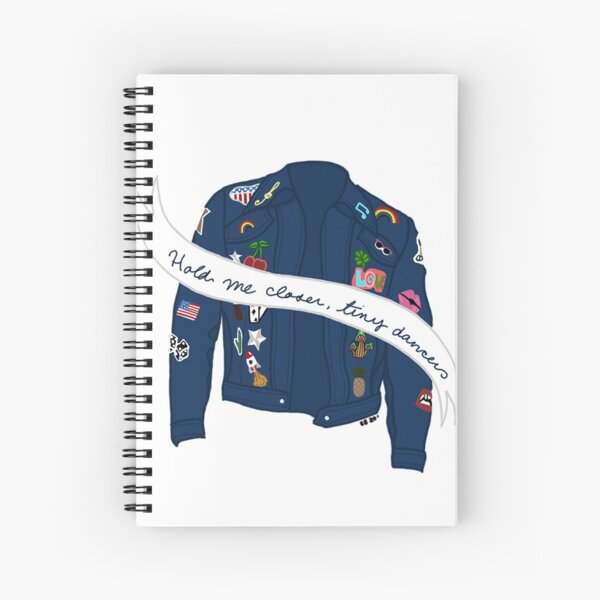 Tiny Dancer Denim Jacket Spiral Notebook