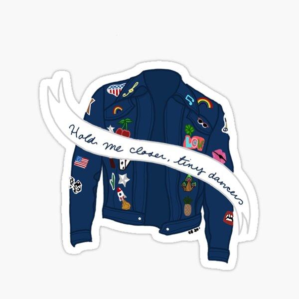 Tiny Dancer Denim Jacket Sticker