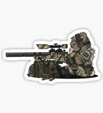 SKOPE (Tan) Sticker