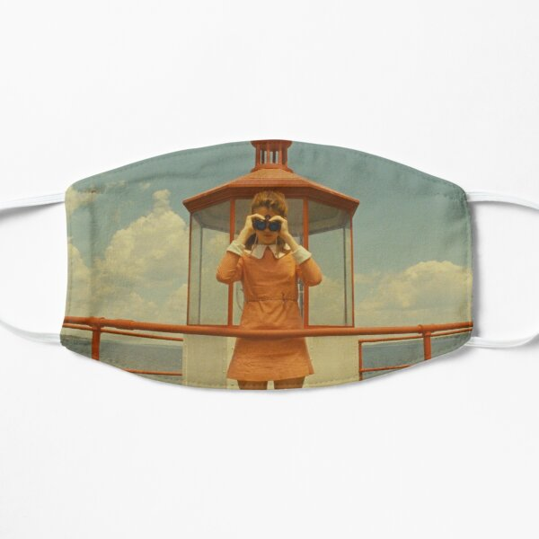 Moonrise Kingdom casttle Flat Mask