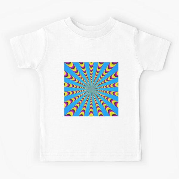 Optical iLLusion - Abstract Art, Kids T-Shirt