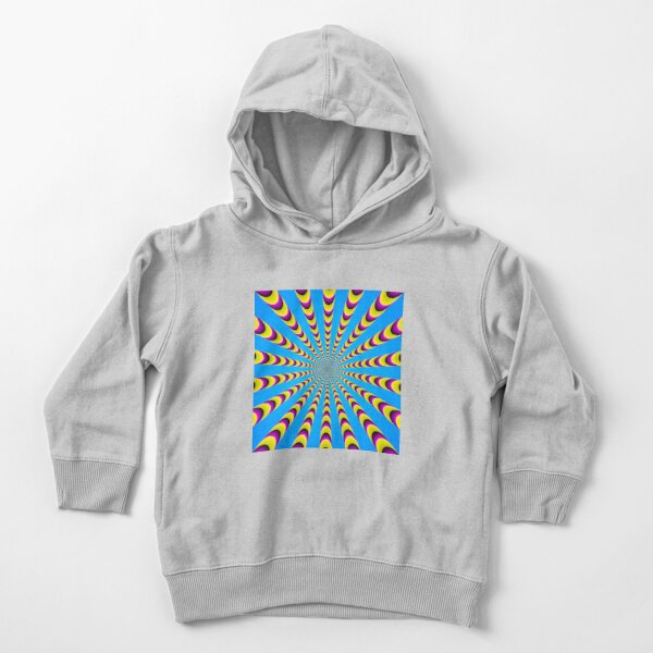 Optical iLLusion - Abstract Art, Toddler Pullover Hoodie