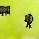 2 cows. by donna malone