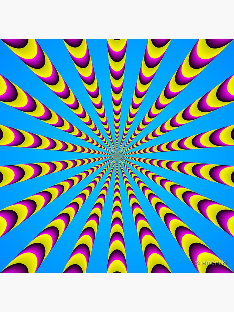 Optical iLLusion - Abstract Art, by znamenski