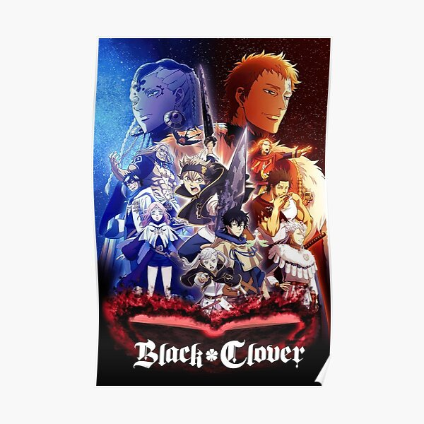 Affiche Black Clover All Squad Poster