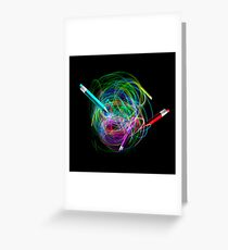 Tangle of Light Greeting Card