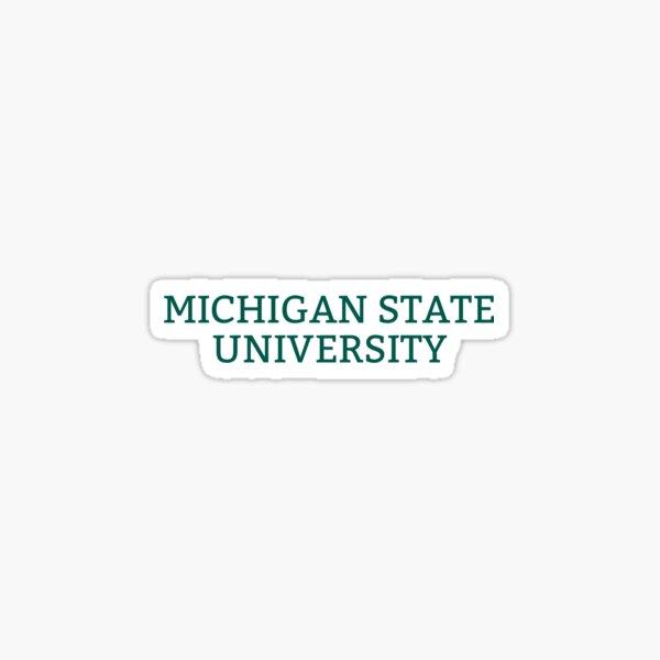Michigan State Univ Sticker