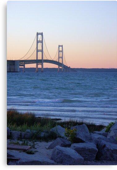 Twilight Bridge by Bob Hardy