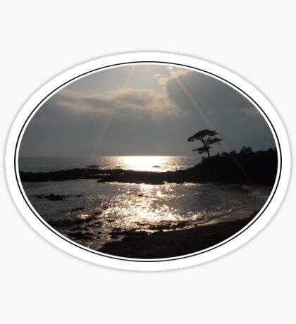 Sunshine on Tateishi Beach Sticker
