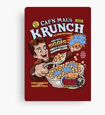 Captain Mal's Krunch Cereal Canvas Print