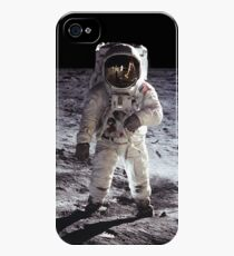 Buzz Aldrin on the Moon NASA iPhone/iPad Space Case iPhone 4s/4 Case