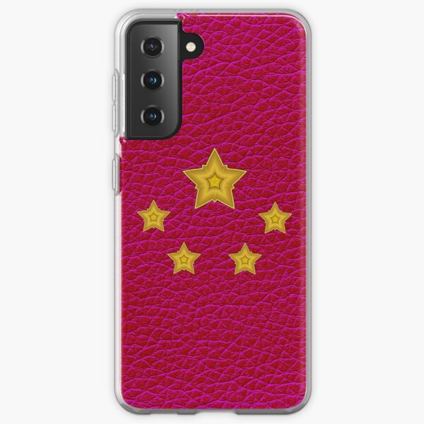 Red Stars (Chinese Flag) Samsung Galaxy Soft Case