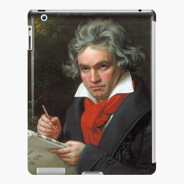 Beethoven-Porträt iPad – Leichte Hülle