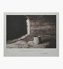 Bukowski #3 Photographic Print