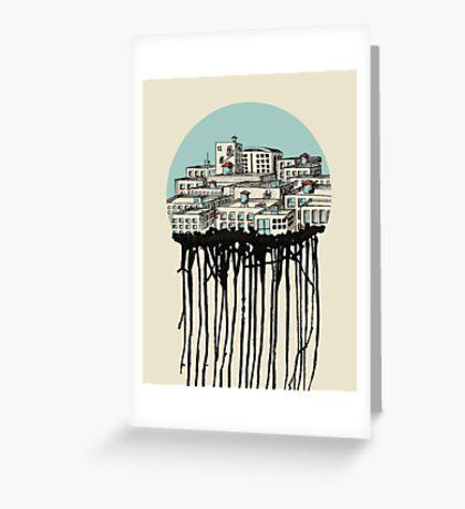 Drip City Greeting Card