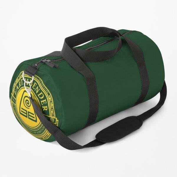 Earthbender Symbol: Avatar-Inspired Design v2 Duffle Bag