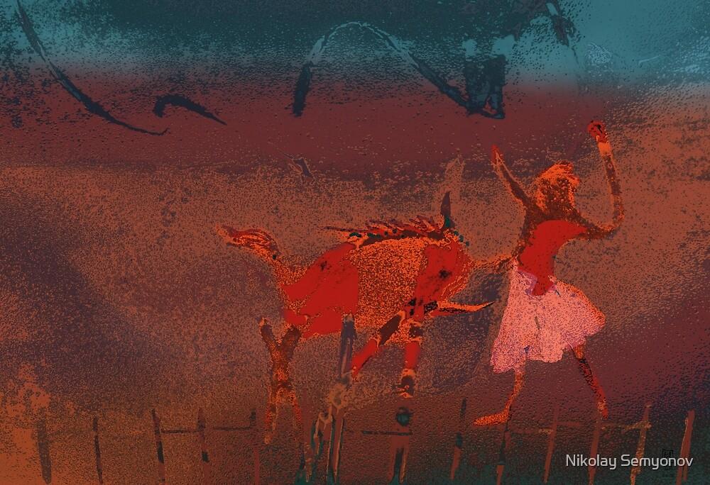 the taming of Unicorn by Nikolay Semyonov