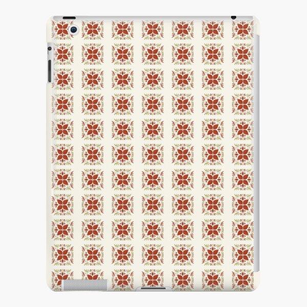 Checkered Flower iPad Snap Case