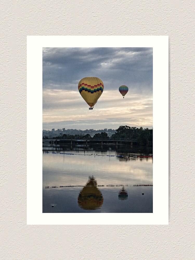 Alternate view of Hot Air Balloons  Art Print