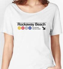Rockaway Beach - Color Women's Relaxed Fit T-Shirt