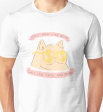 Cats and Money Unisex T-Shirt