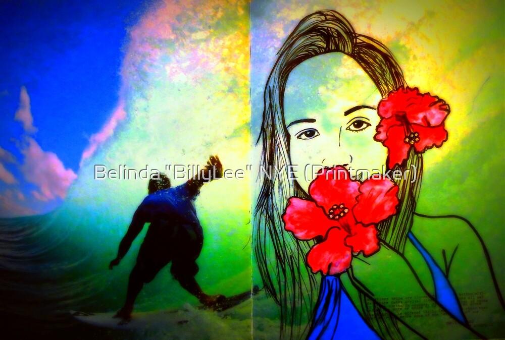"""Hawaiin Girl by Belinda """"BillyLee"""" NYE (Printmaker)"""