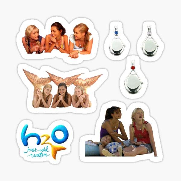 H2O: Fügen Sie einfach die Wasseraufkleberpackung hinzu Sticker