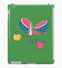 Melon massacre iPad Case/Skin