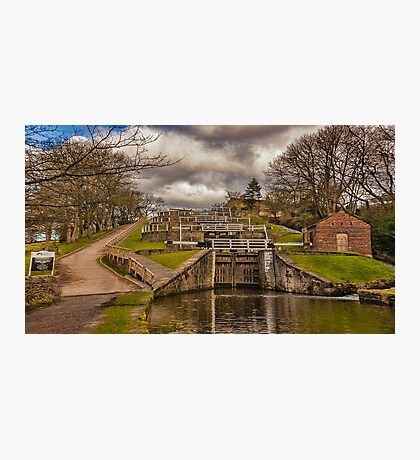Bingley Five Rise Locks Photographic Print