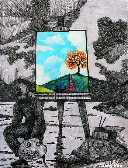 'A MATTER OF PERSPECTIVE'  von Jerry Kirk