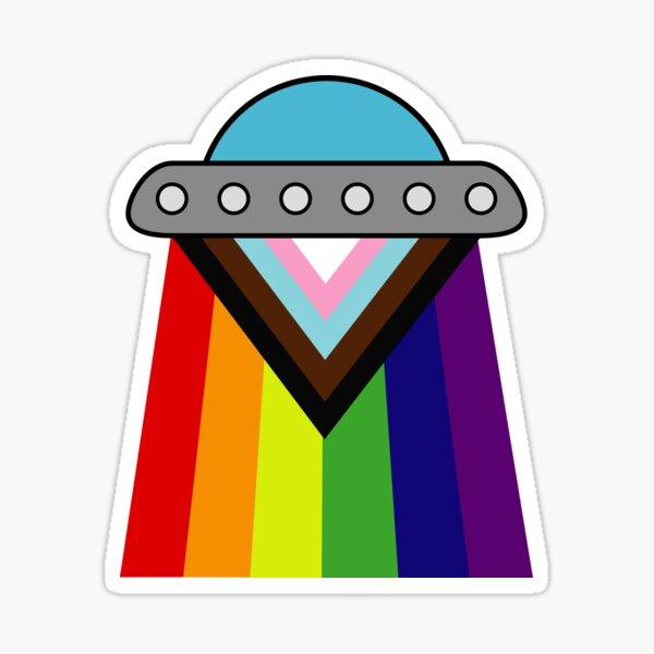 Pride UFO Sticker