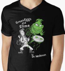 Green Eggs and Slime Mens V-Neck T-Shirt