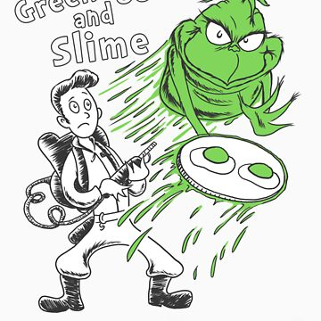 Green Eggs and Slime by comicbookjer