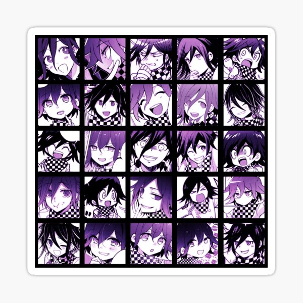 Kokichi Manga Collection Ver. 2 (Colored) Sticker